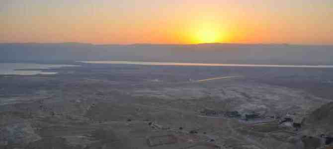 Hiking the Snake Path in Masada: A Non-Hiker's Guide to a Masada Sunrise