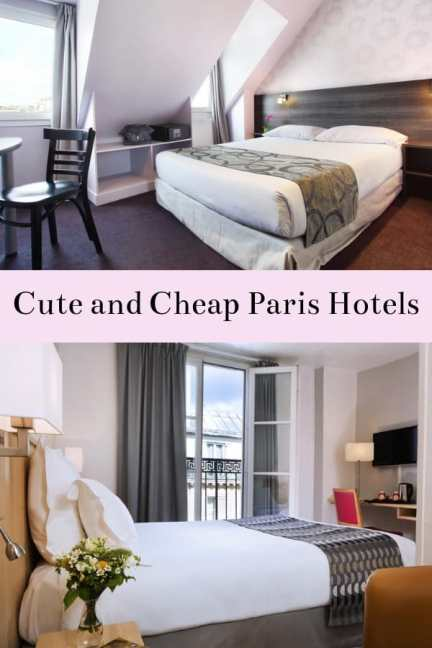 Need a place to stay in Paris? Here are some great picks for cute and cheap hotels in Paris, France. #Paris #France