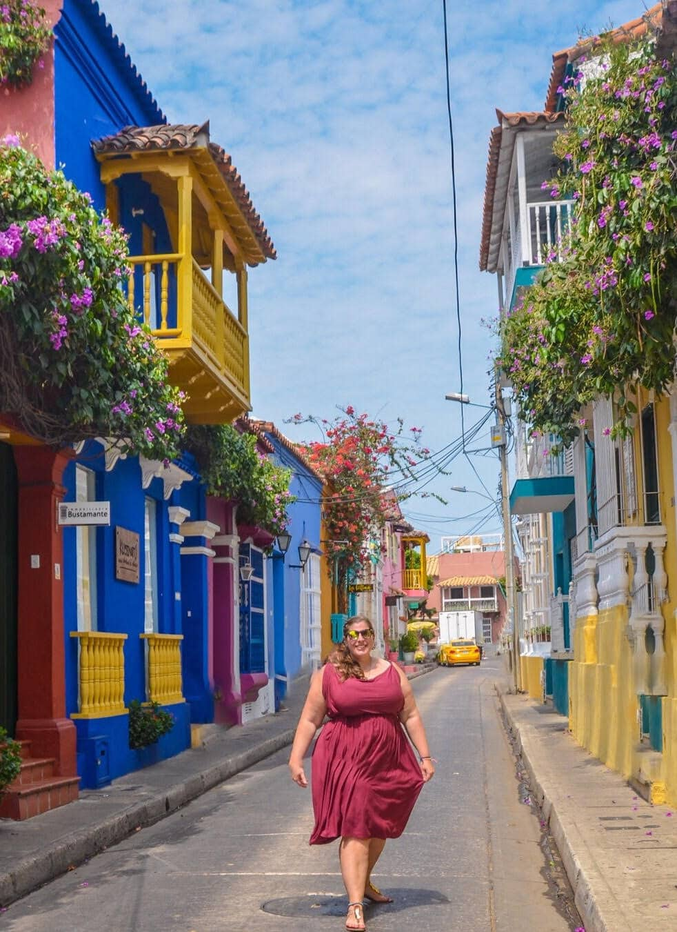 Hannah in Cartagena