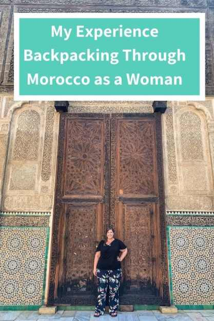 backpacking through Morocco as a woman