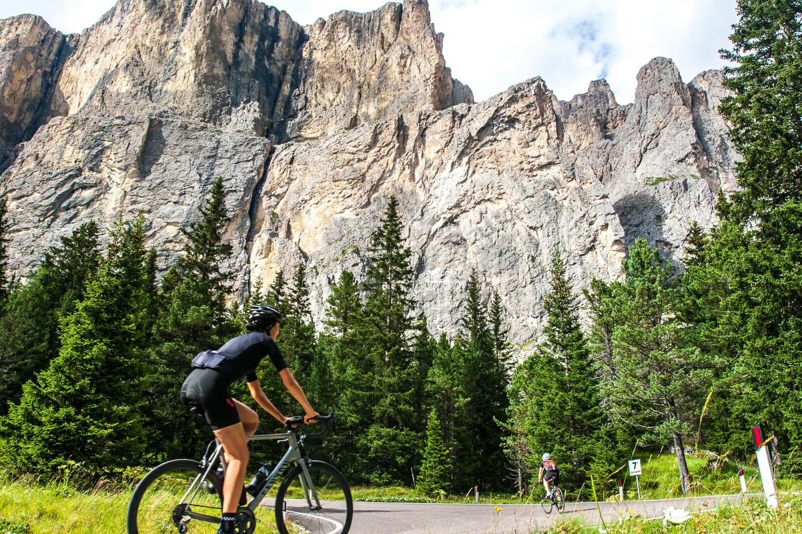 Dolomites Cycling Valparola