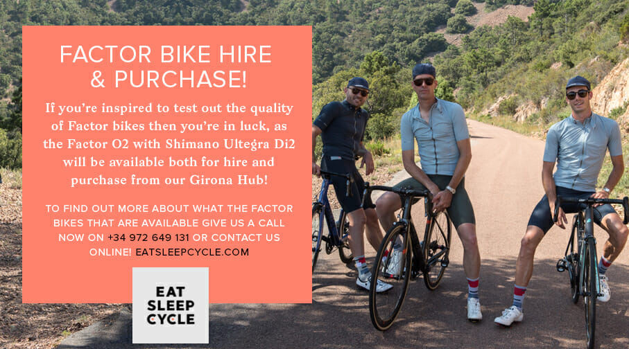 Factor Bike Hire and Purchase from Eat Sleep Cycle