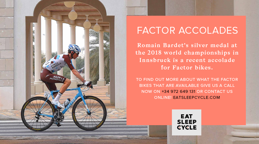 Factor Bikes Romain Bardet - Factor Bike Hire and Purchase