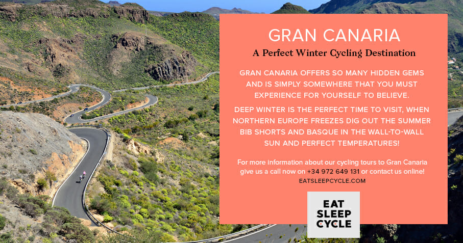 Gran Canaria Cycle Routes - Winter Cycling Destination - Eat Sleep Cycle