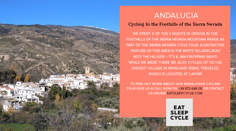 An Andalusian Cycling Experience - Sierra Nevada Cycling Tour