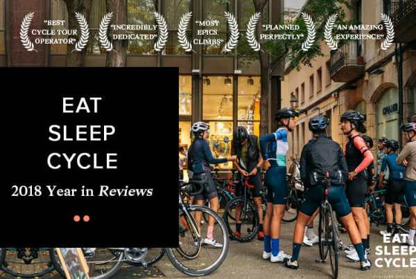 Eat Sleep Cycle - 2018 Year of Reviews
