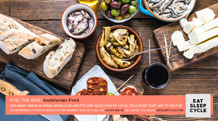 Andalucian Food For Cyclists - Eat Sleep Cycle Tours