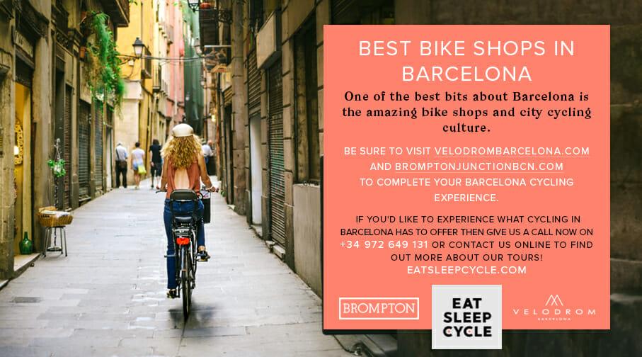 Best bike shops in Barcelona - Eat Sleep Cycle