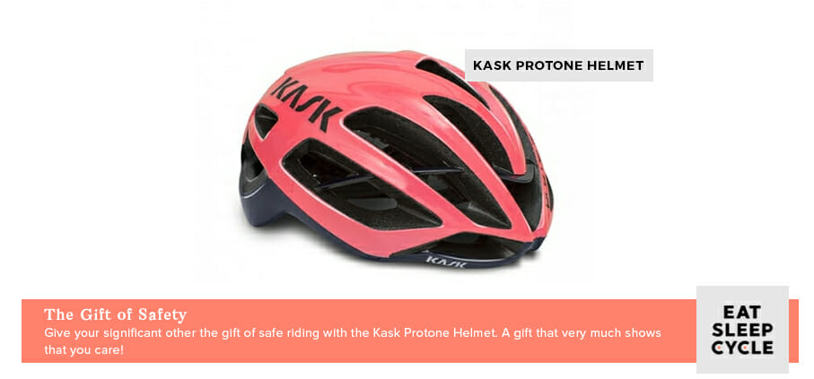 KASK Cycling Helment - Romantic Gifts for Cyclists - Eat Sleep Cycle