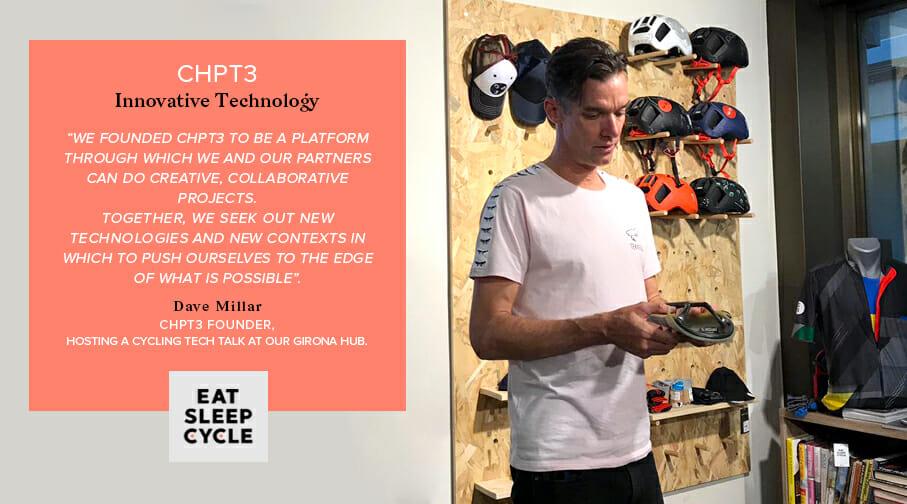 CHPT3 Cycling Gear - Innovative Technology - Eat Sleep Cycle