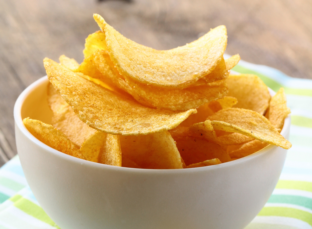 Easy Homemade Potato Chips Recipe - Eat This Not That