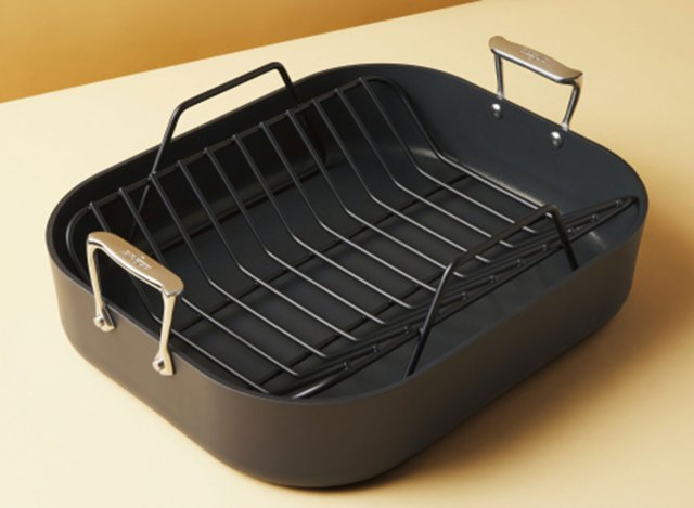 all clad anodized roaster
