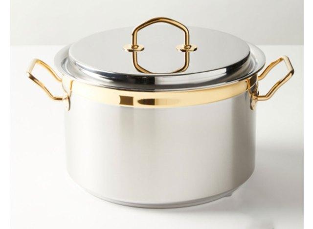 silga spa stainless steel pot
