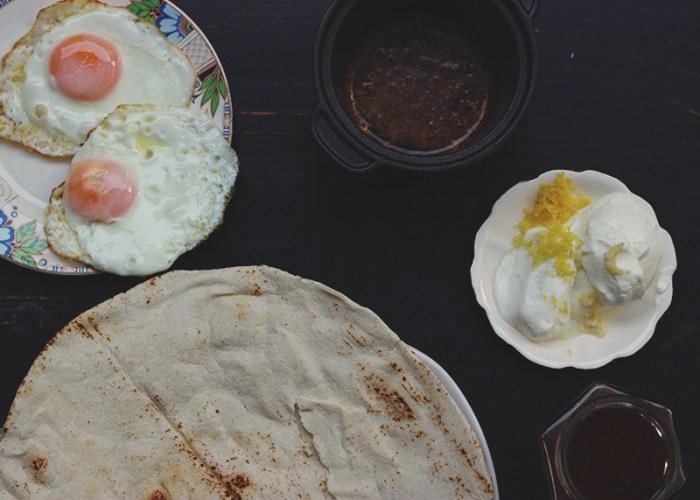 turkish eggs prep