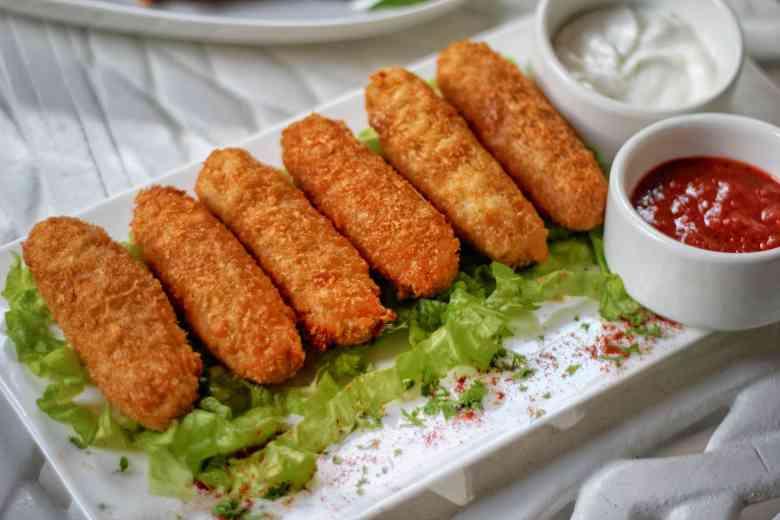 Minced Chicken Croquette