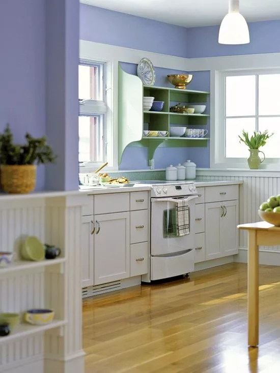 Best Colors for a Small Kitchen — Painting a Small Kitchen ... on Best Small Kitchens  id=84683
