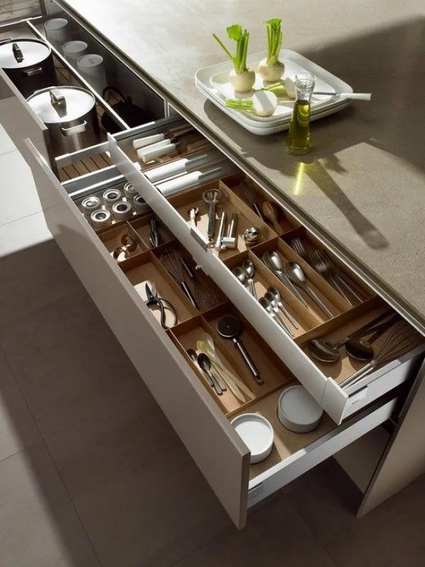 15 Drawer Ideas To Help You Organize Your Kitchen Eatwell101