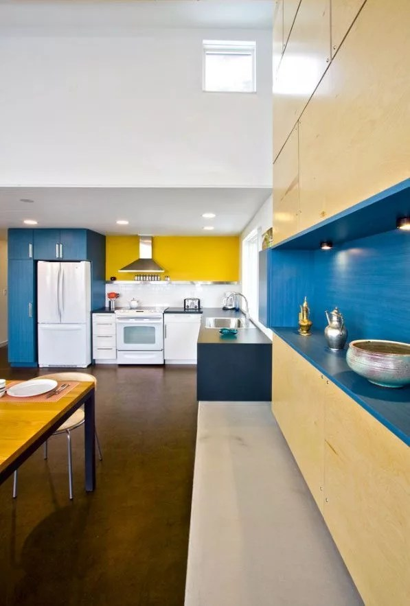 10 Blue Kitchens Inspiration Eatwell101