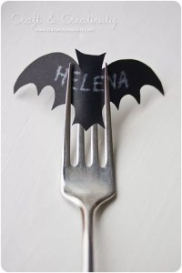 halloween table place cards