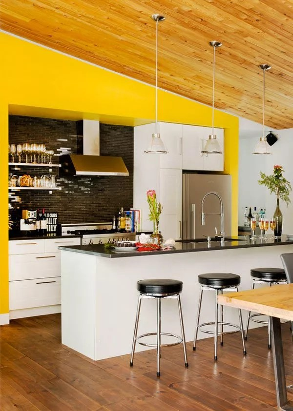 See Brighter Side Things Bright Yellow Kitchen Accent