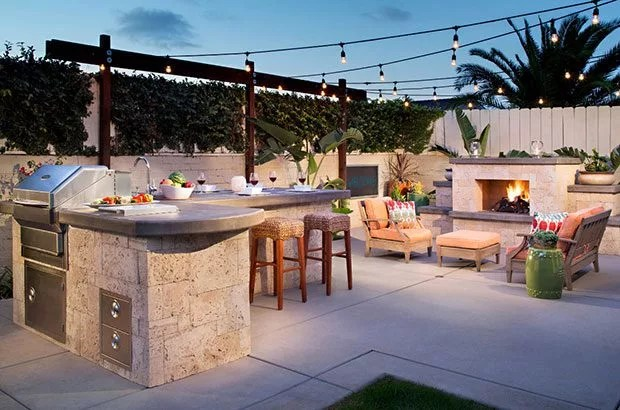 ideas to light up your backyard
