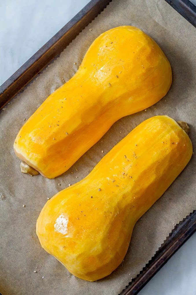 Roasted Butternut Squash with Garlic Butter — Eatwell101