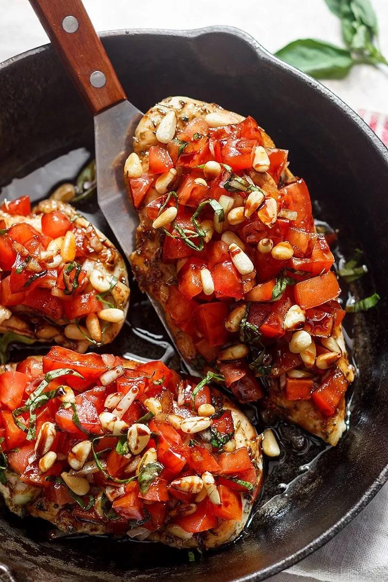 Bruschetta Chicken Recipe — Eatwell101