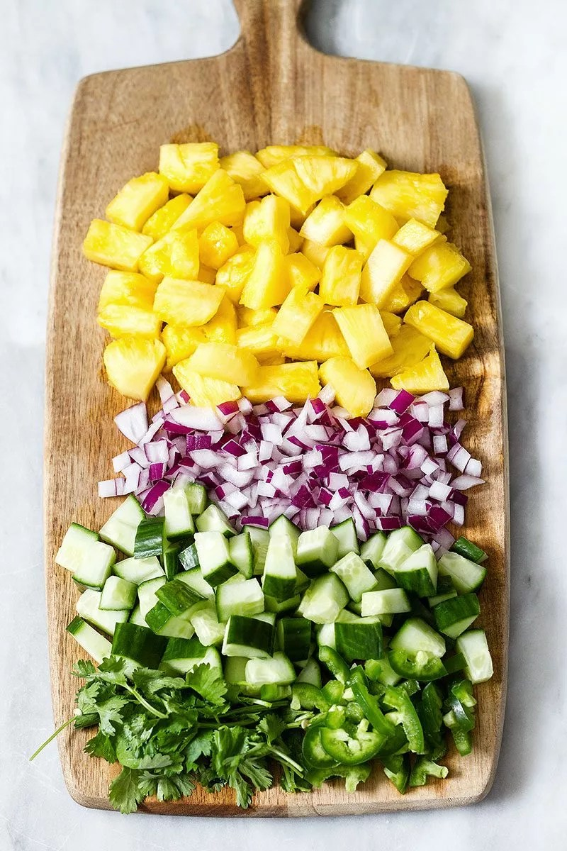 Pineapple Cucumber Jalape 241 O Salad Recipe Eatwell101