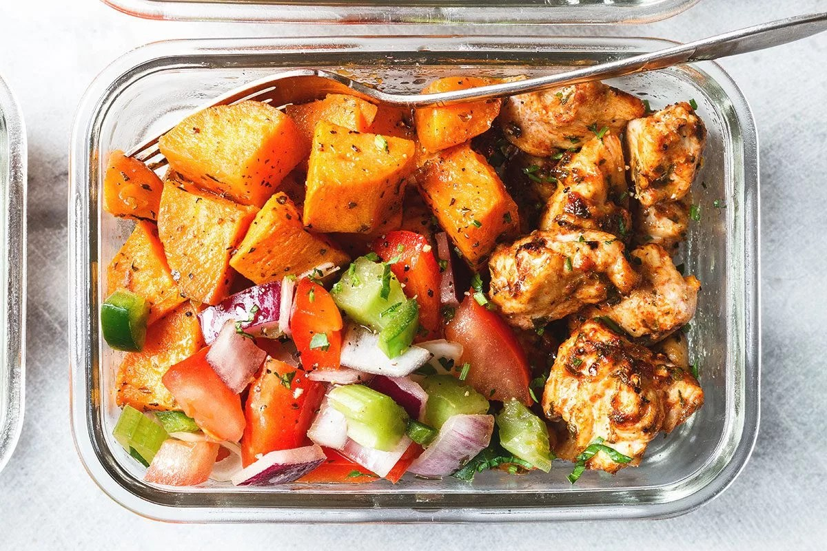 Meal Prep Roasted Chicken And Sweet Potato Eatwell101