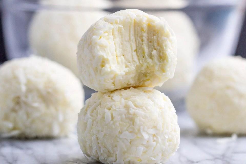 Lemon Cheesecake Keto Fat Bombs