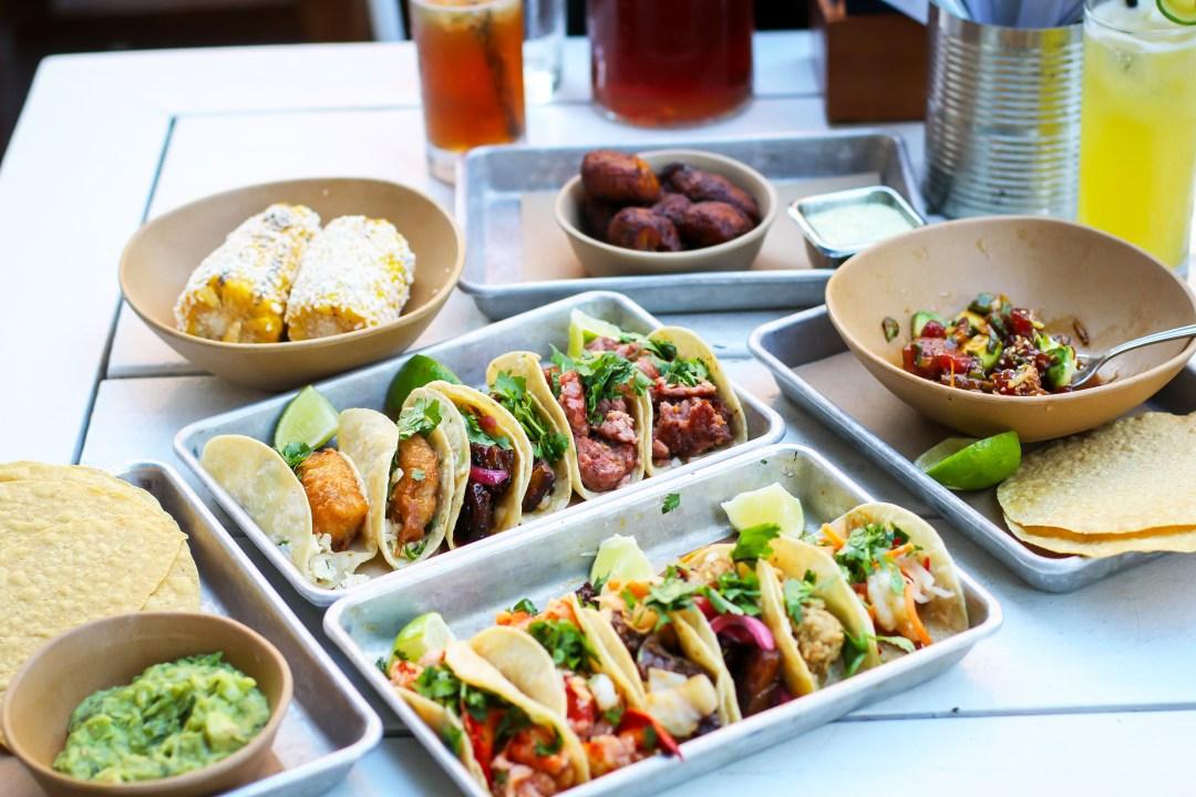 Bartaco Tacos Menu