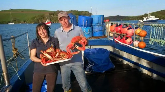 Phil & Sarah Cardew of The Salcombe Fish Wife