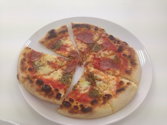 Homemade pizza inspired by Pizza PIlgrims