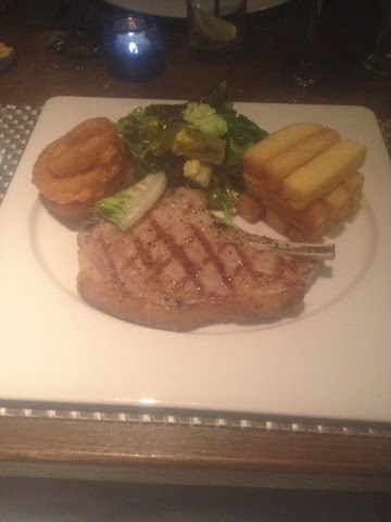 Veal steak at The Cross, Kenilworth