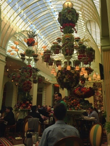 The interior of the Wynn buffet