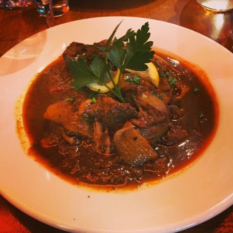 Stifado at the Olive Tree Greek restaurant in Chapel Allerton, Leeds