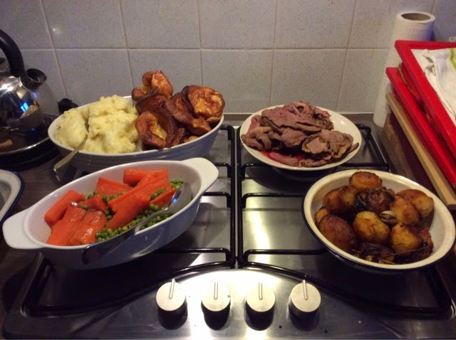 Roast dinner is a family favourite