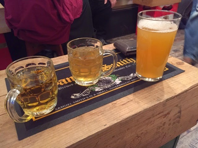 Ciders at The Rugby Tap