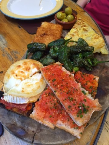 Tapas at Camino, King's Cross, London