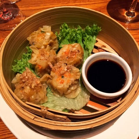 Thai dumplings at Thai Square, St Albans