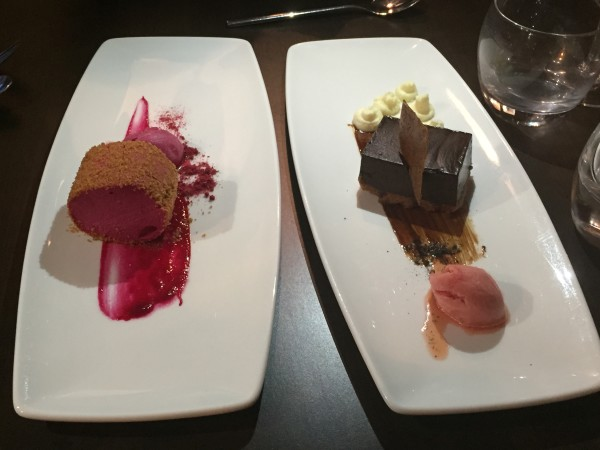 Desserts at the Wine House