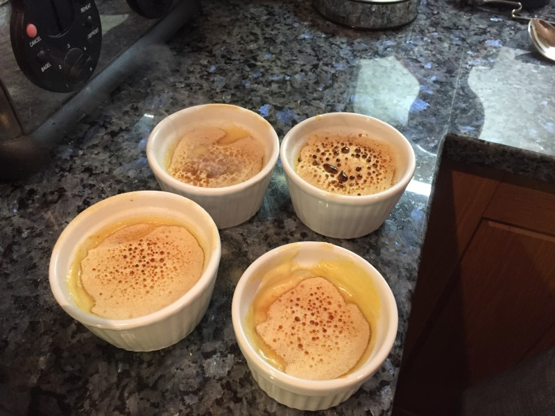 Final crema catalana, made by Eat with Ellen