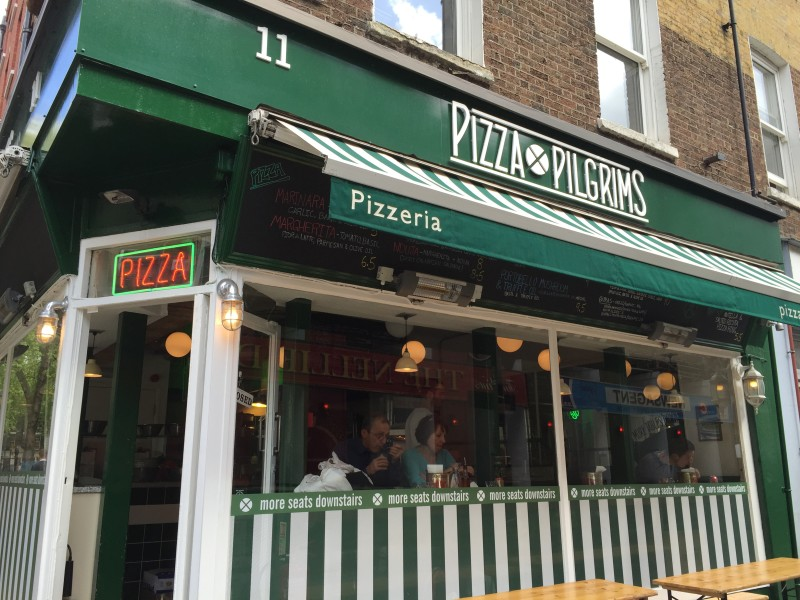 Pizza Pilgrims on Dean Street, Soho