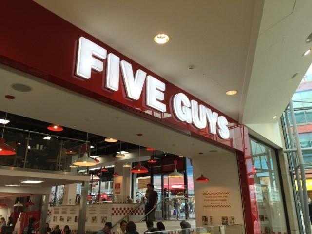 Five Guys in Birmingham