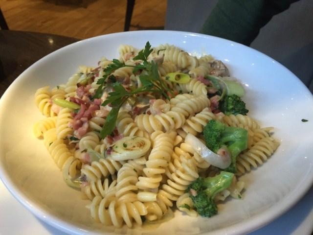 Gorgonzola pasta at Prezzo, Rugby