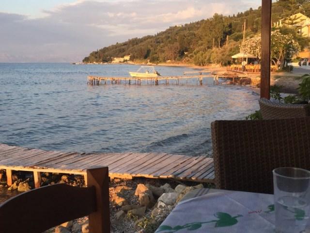 Sunset at Boukari Beach, Corfu