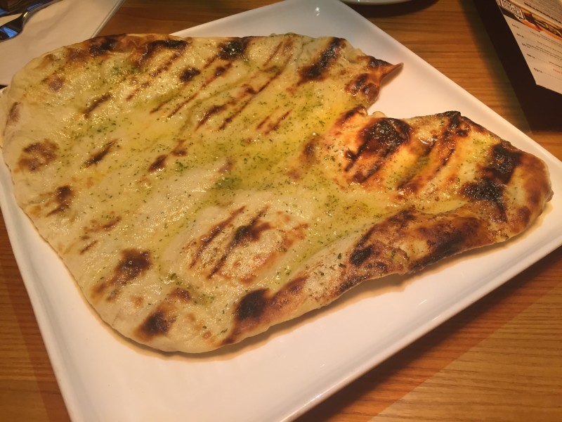 Tear and share garlic flatbread at the Griff House Beefeater, Nuneaton