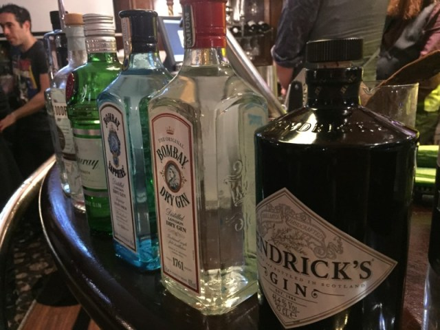 Gin at the Jekyll and Hyde, Birmingham