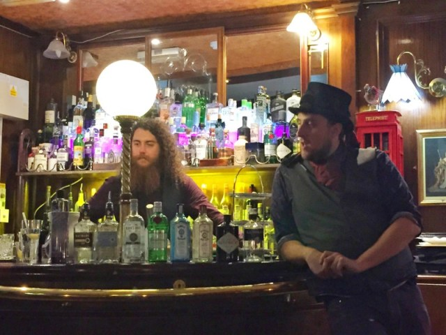 Gin masterclass at the Jekyll and Hyde, Birmingham