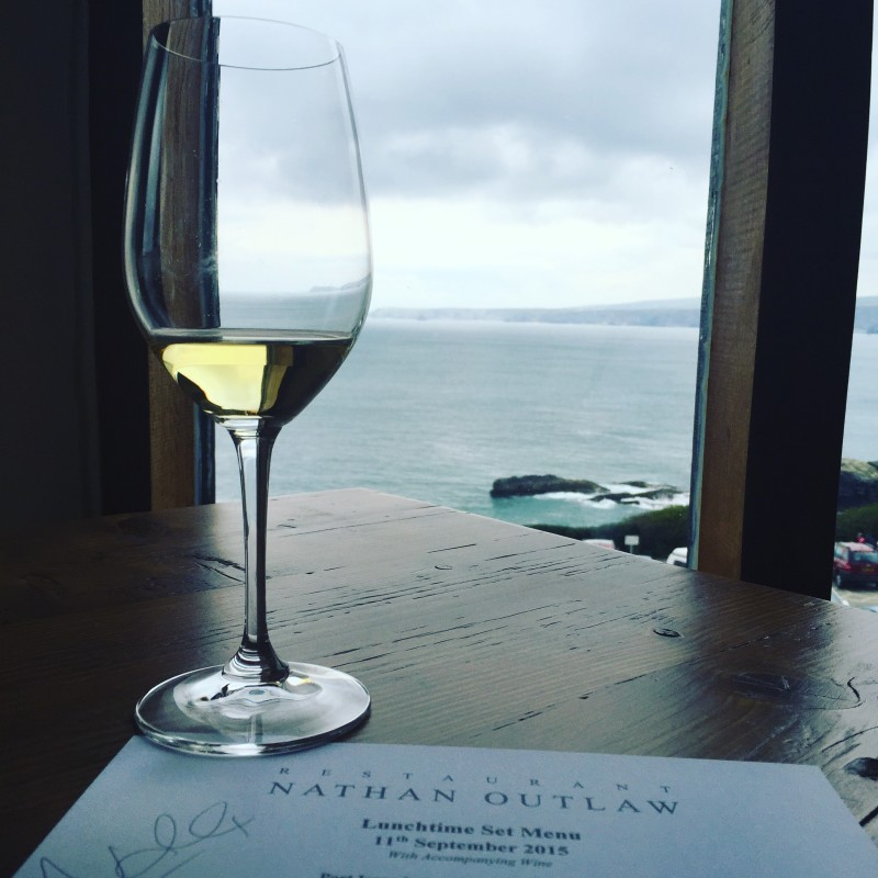 The view at Restaurant Nathan Outlaw